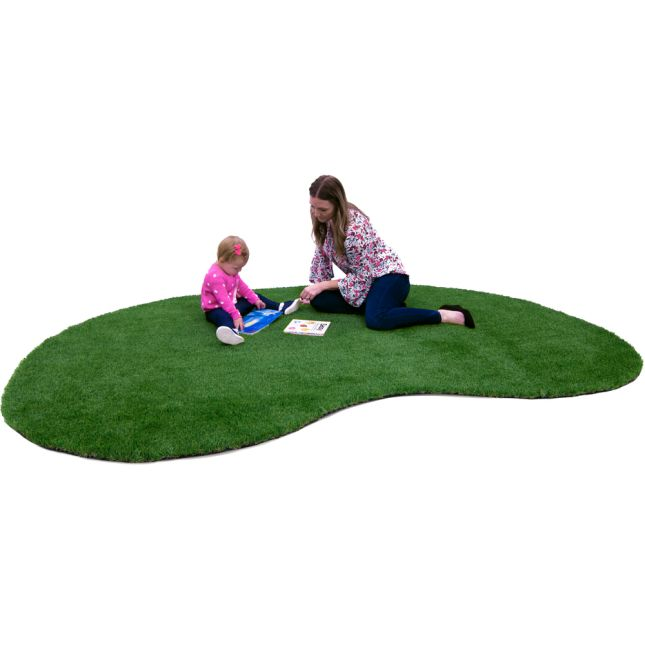 Greenspace Artificial Grass Area Rug  12' By 9'  Jellybean - 1 rug