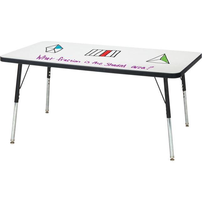 """Berries Rectangle Dry Erase Table  48"""" By 24"""""""