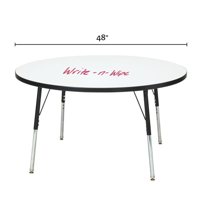 "Berries Round Dry Erase Table  48"" Diameter - 1 table"