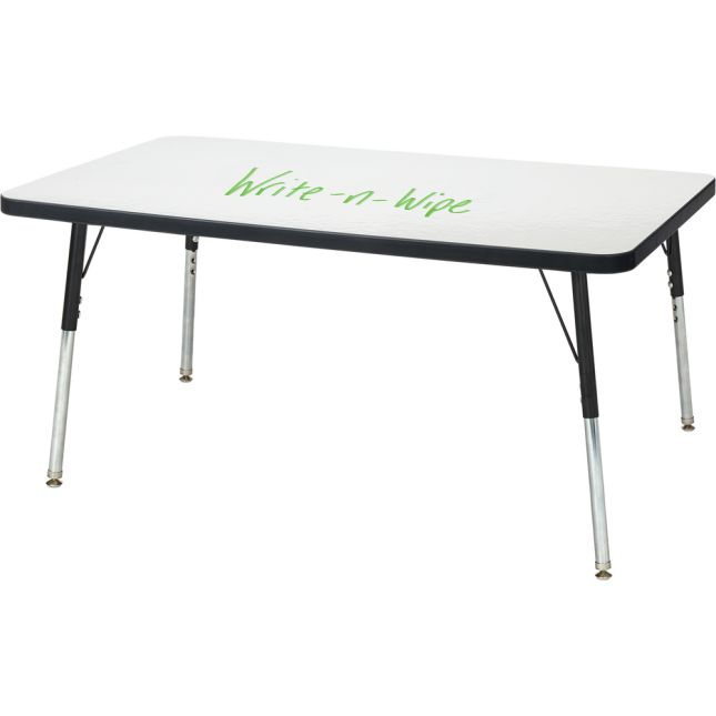 Berries Rectangle Dry Erase Table 36  By 24