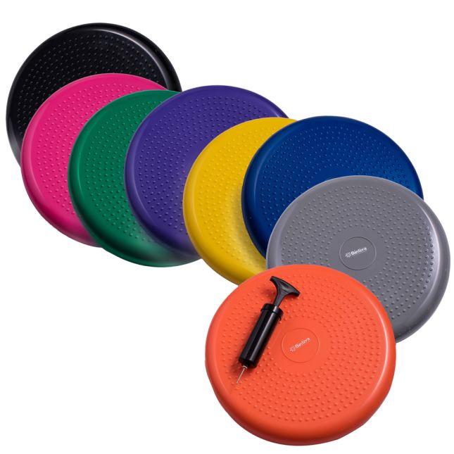 Standard Balance Disc Wiggle Cushion 33 Cm 13  Diameter   Black