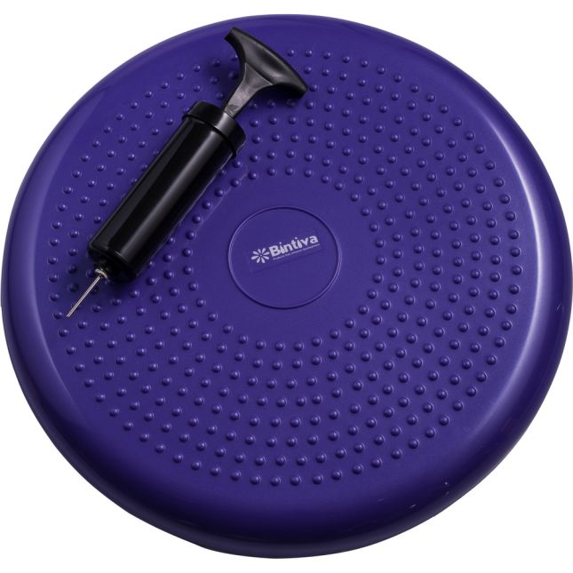 Standard Balance Disc Wiggle Cushion 33 Cm 13  Diameter   Purple