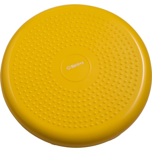 Standard Balance Disc Wiggle Cushion 33 Cm 13  Diameter   Yellow