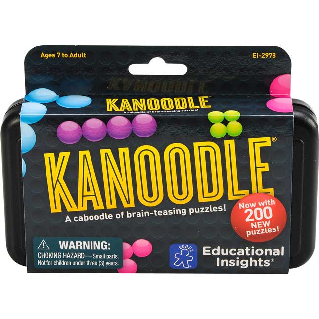 Kanoodle Game  Brain-Building Puzzles - 1 puzzle game