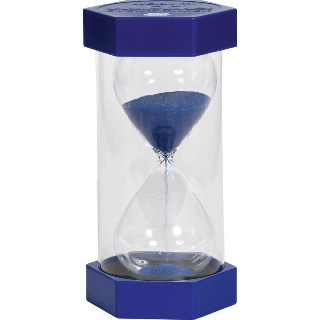 Mega Sand Timer 5 Minute Blue