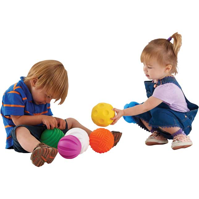 Tactile Balls - 6 balls