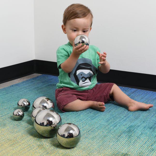 Sensory Reflective Sound Balls