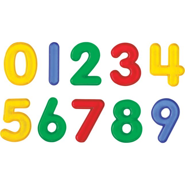 Transparent Numbers