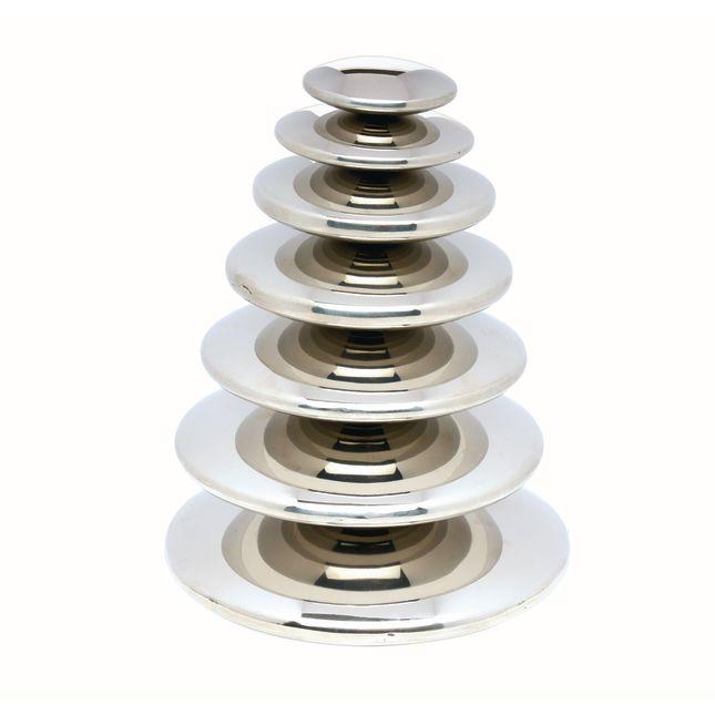 Sensory Reflective Buttons Silver