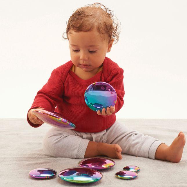 Sensory Reflective Buttons Color Burst