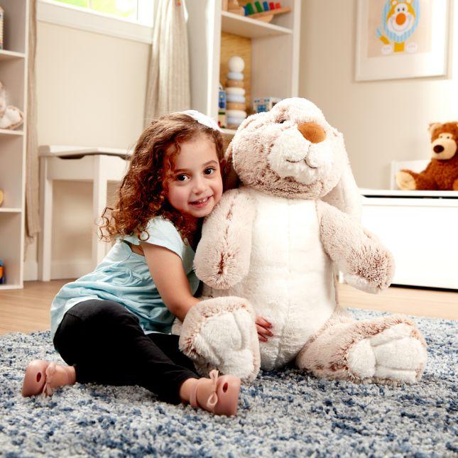Jumbo Burrow Bunny Stuffed Plush Animal - 1 stuffed bunny