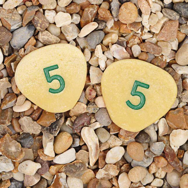 Number Pebbles