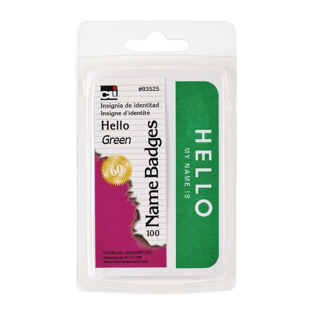 Name Badges - Hello My Name Is