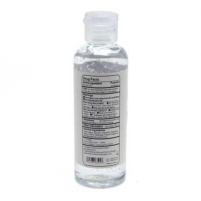 Hand Sanitizer Gel 3.4oz - 1 hand sanitizer_2