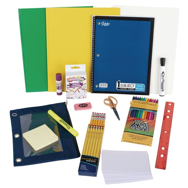 Individual Student Supplies Kit with Whiteboard - Intermediate
