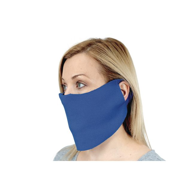 Elastic Face Covering with Cloth Ear Strap 10 Pack Adult Sized