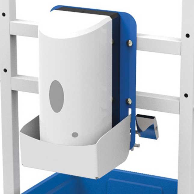 Single Student Hand Sanitizer Station - Base Model - 1 station