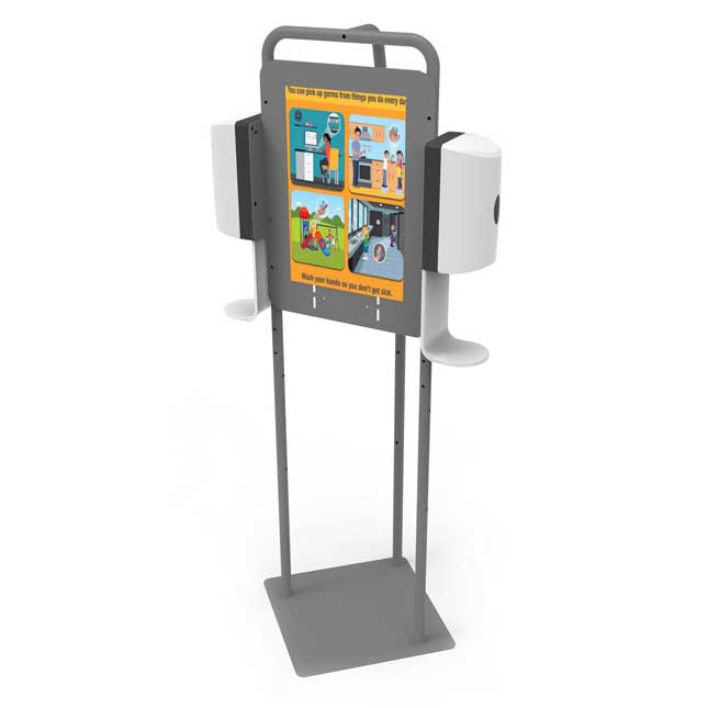 Double Hand Sanitizer Station - 1 station