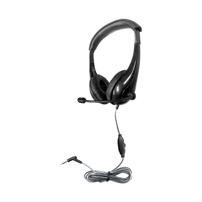 Motiv8 TRRS Classroom Headset with Gooseneck Mic and In-line Volume Control