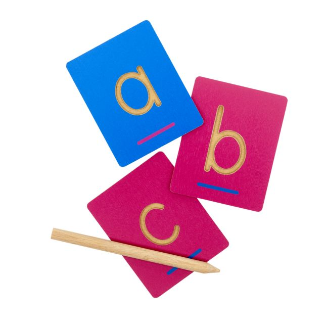 Feel the Letter - Prewriting and Letter Recognition Activity