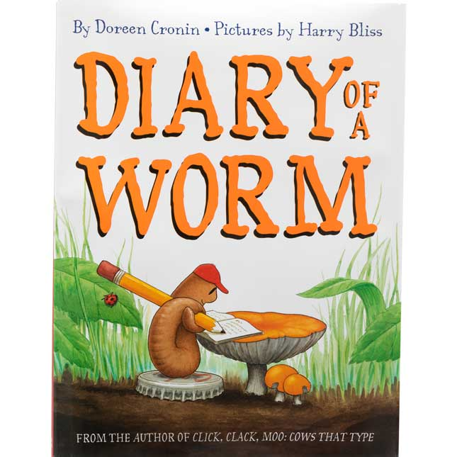 Diary Of A Worm Activity Kit