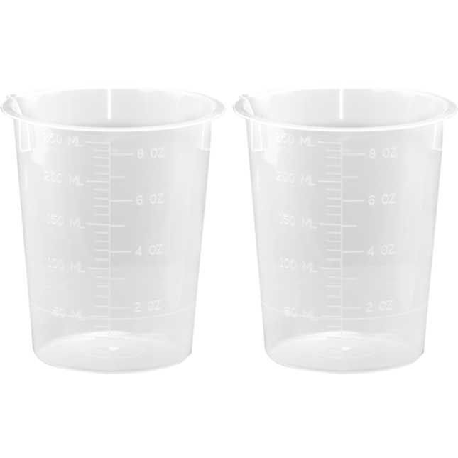 250 mL Plastic Beakers