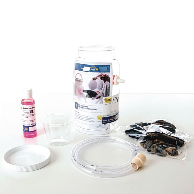 Boo Bubbles™ - Dry Ice Smoke Bubbles - 1 multi-item kit