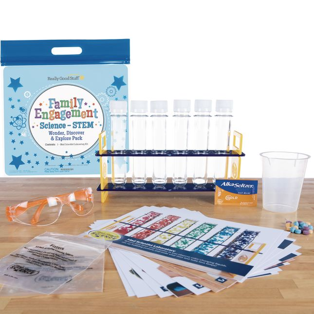 Family Engagement Science/STEM - Wonder, Discover and Explore Pack: Mad Scientist Laboratory - Kindergarten