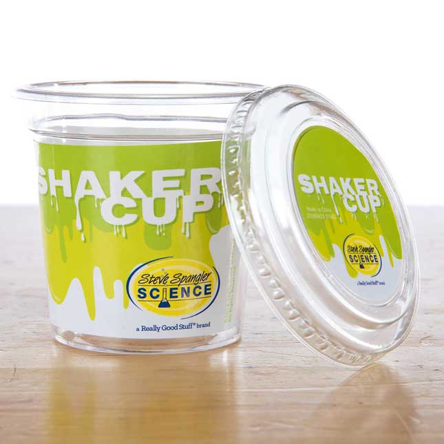 Shaker Slime Cups And Lids - 30 Pack
