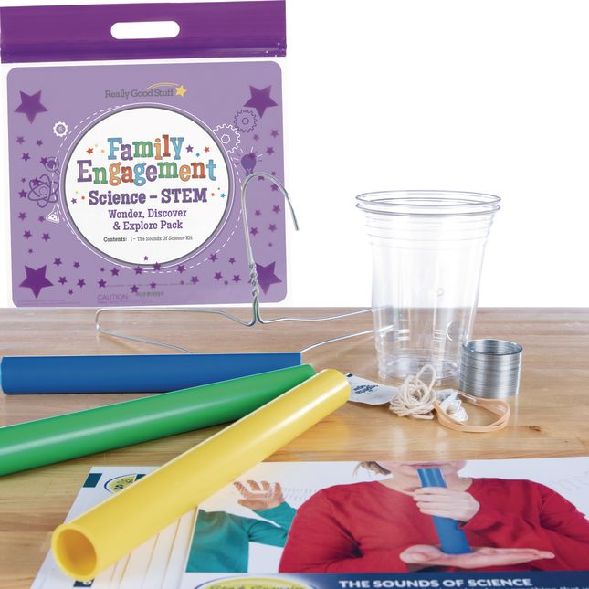 Family Engagement Science/STEM - Wonder, Discover and Explore Pack: The Sounds Of Science