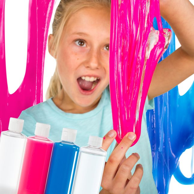 Slime Art - 3 Pack - (Clear, Pink, Blue)