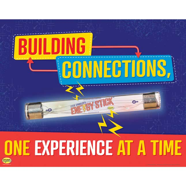 Energy Stick® Poster - 1 poster