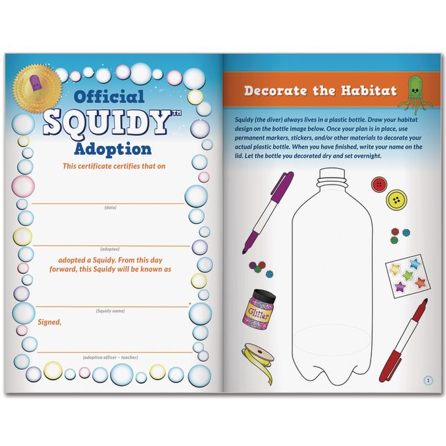 Science Learning Journals™ - SQUIDY™ The Cartesian Diver By Steve Spangler Science™