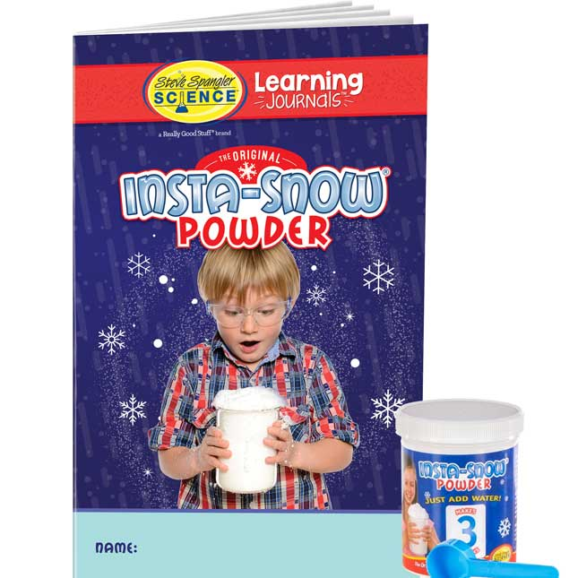 Science Learning Journals™ And Insta-Snow® Kit By Steve Spangler Science™