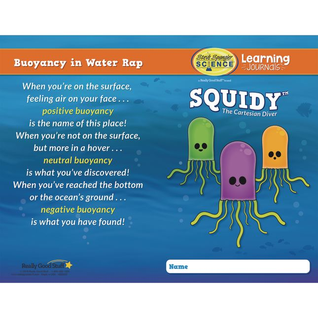 Science Learning Journals™ And SQUIDY™ Kit By Steve Spangler Science™