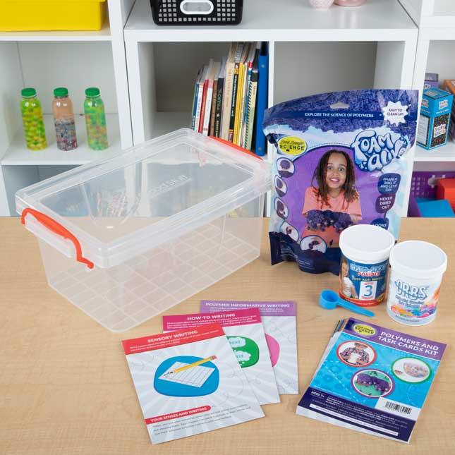 Polymers And Task Cards Kit - 1 multi-item kit