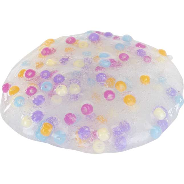 Calming Sensory Slime With UV Color-Changing Beads - 1 multi-item kit
