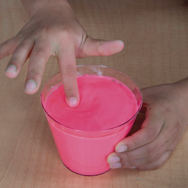 Oobleck - Pink - 1 package of Oobleck