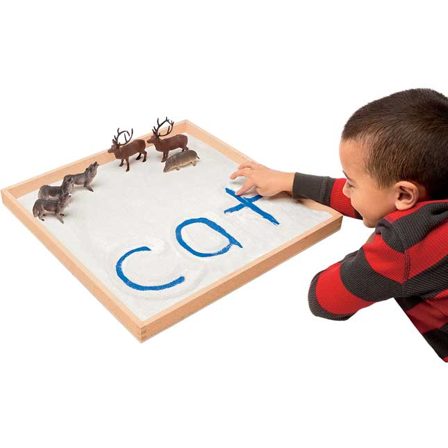 Letter and Word Formation Sand Tray - 18""