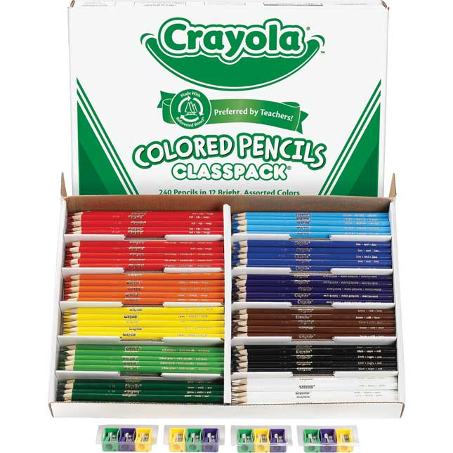 Crayola® 240-ct. Colored Pencils Classpack®