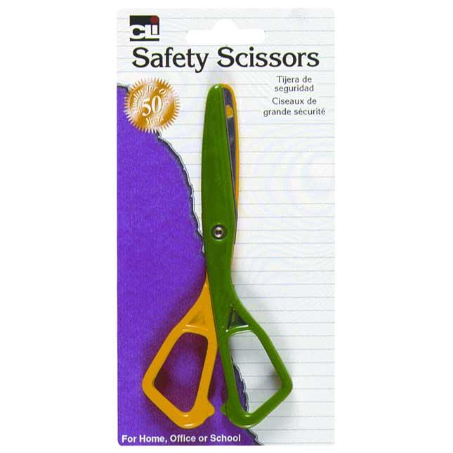 Safety - Plastic Scissors - Set Of 12