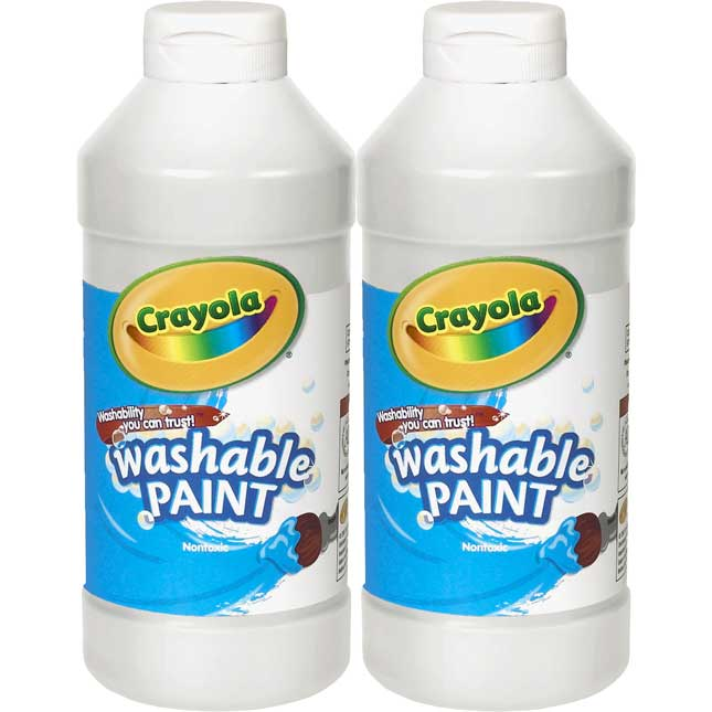 Crayola® 16oz. Washable Paint - Set Of 2