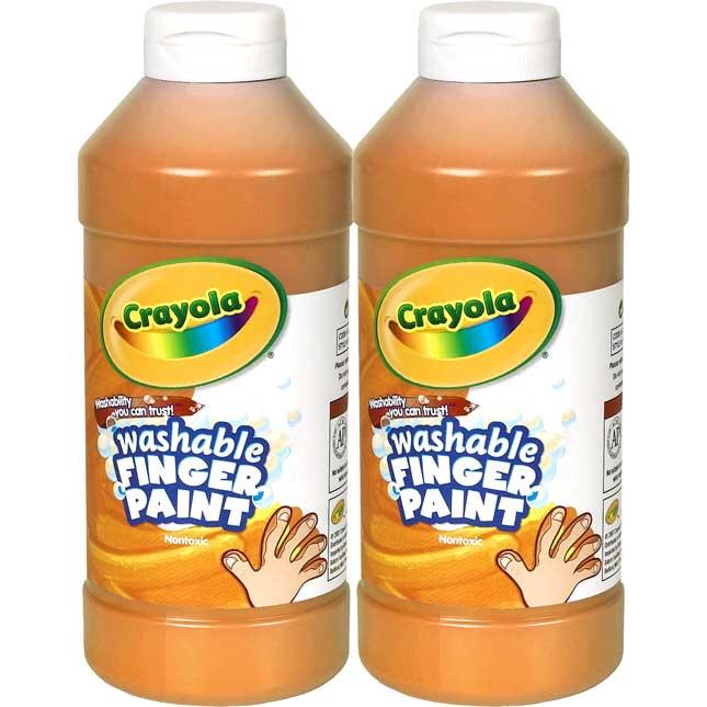 Crayola® Washable Finger Paint - 16oz - Set Of 2