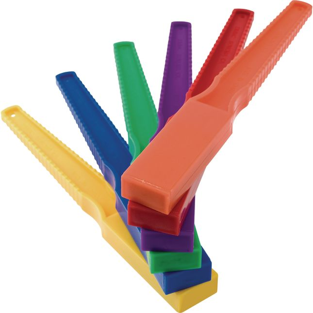 Primary Colored Magnet Wands - Set Of 12