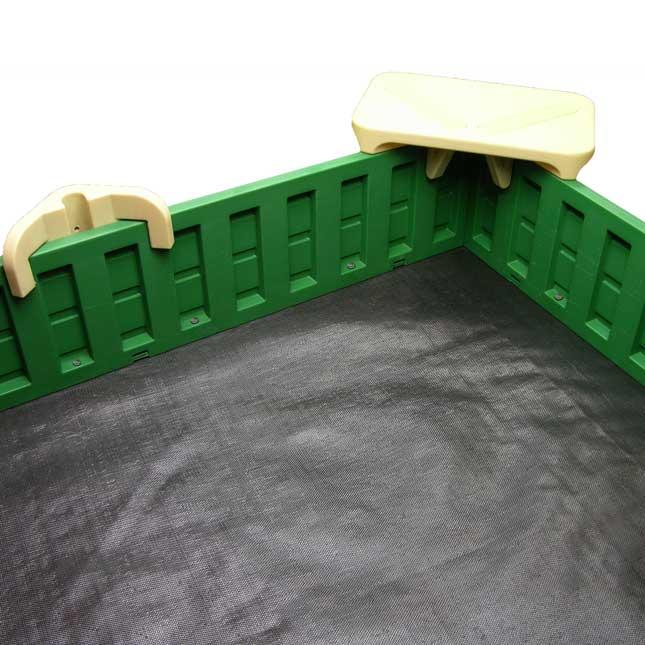 SandLock Sandbox Kit - 5'x10' Sandbox Kit