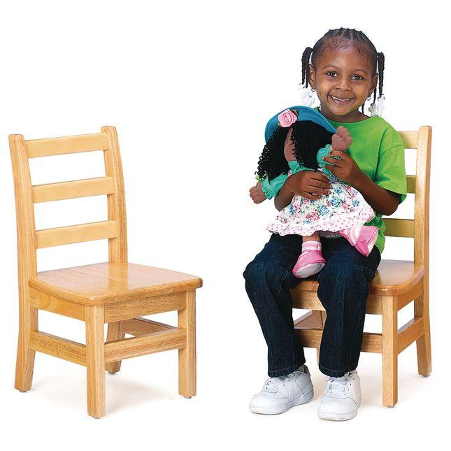 "Jonti-Craft® KYDZ Ladder - Back Chair Pair - 12"""