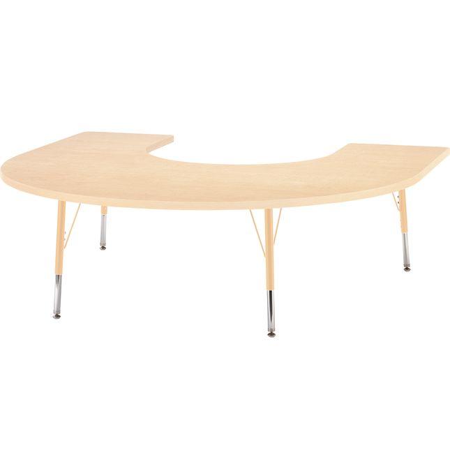 "Jonti-Craft® Berries® Activity Tables - 66"" x 60"" Horseshoe - Elementary Height"