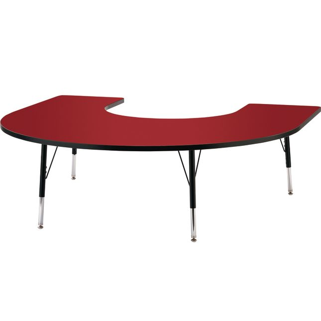 "Jonti-Craft® Berries® Activity Tables - 66"" x 60"" Horseshoe - Elementary Height"