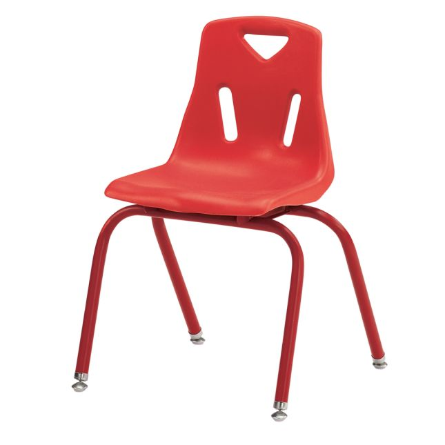 "Jonti-Craft® Berries® Stacking Chairs - Powder-Coated - 16"" Seat Height Single Chair"