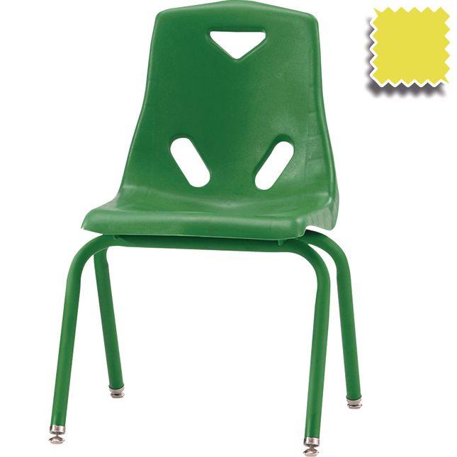 Jonti Craft Berries Stacking Chairs   Powder Coated   16  Seat Height Set Of 6